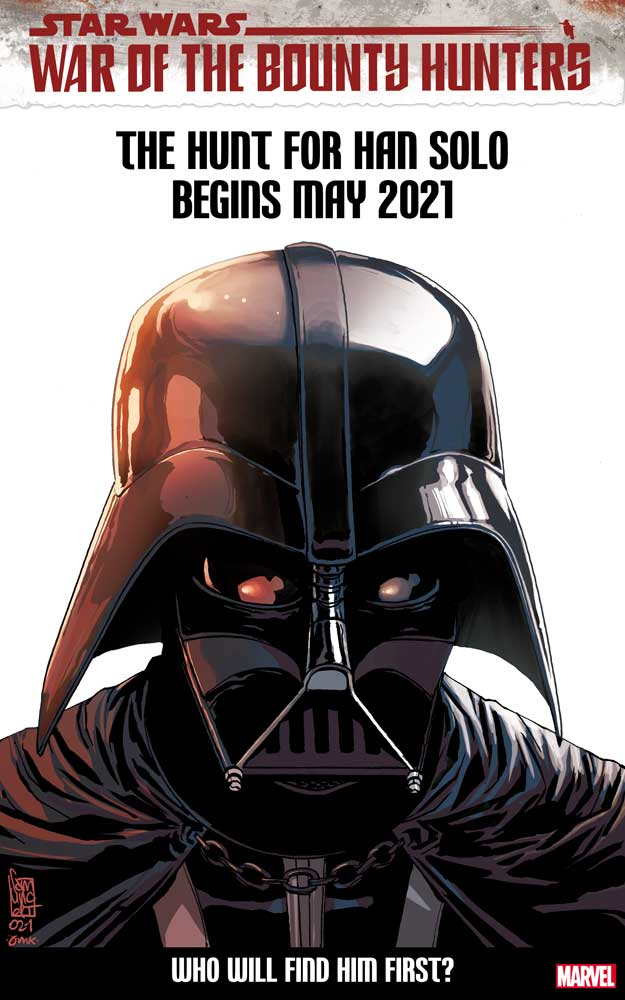 Star Wars: Darth Vader #14 variant cover featuring Darth Vader