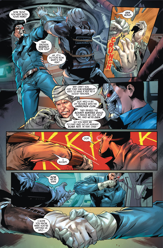 Marvel's Star Wars: Bounty Hunters #11 preview 3