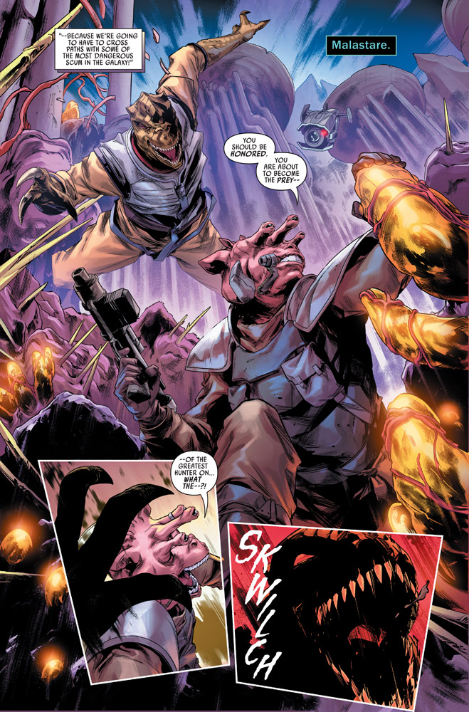 Marvel's Star Wars: Bounty Hunters #11 preview 4