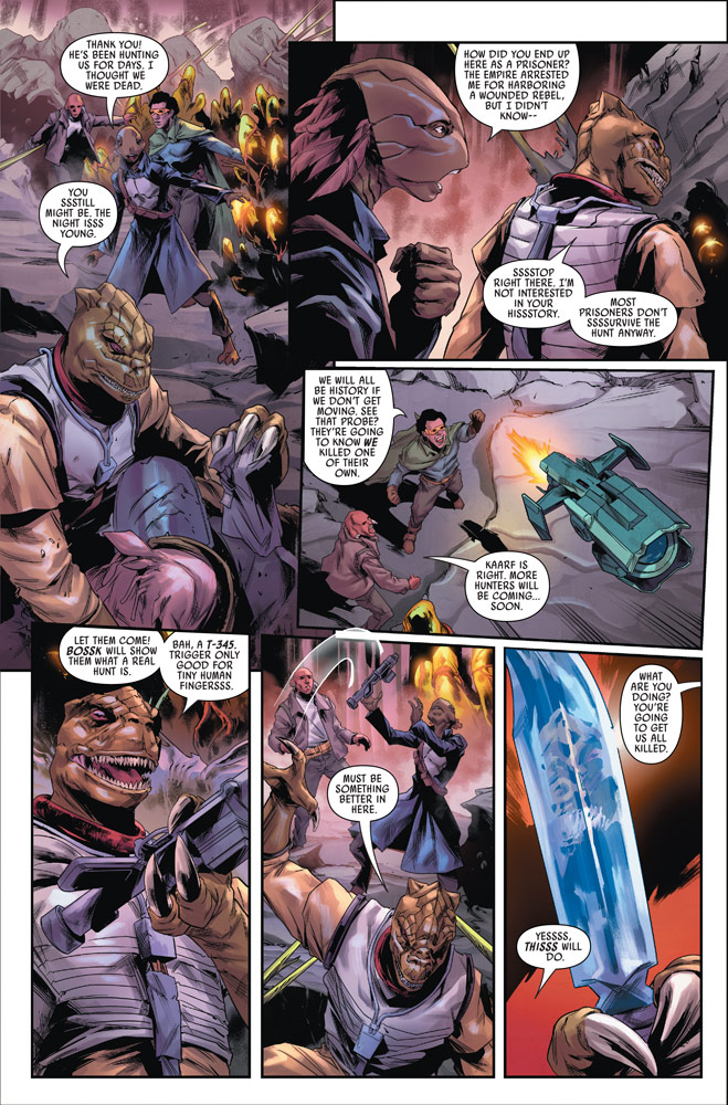 Marvel's Star Wars: Bounty Hunters #11 preview 5