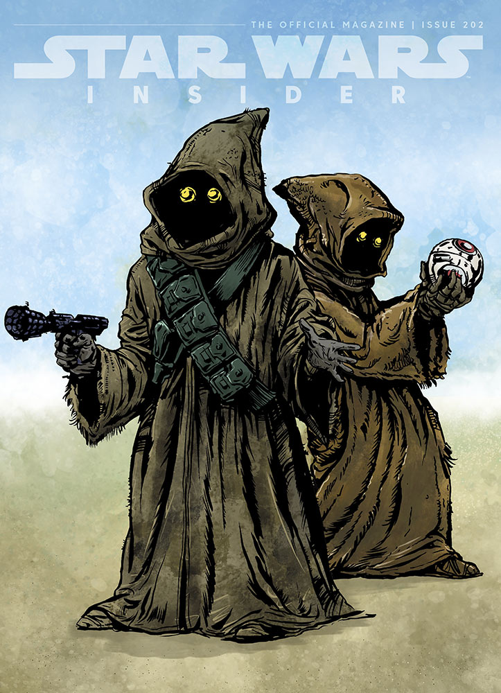 Star Wars Insider#202 exclusive cover