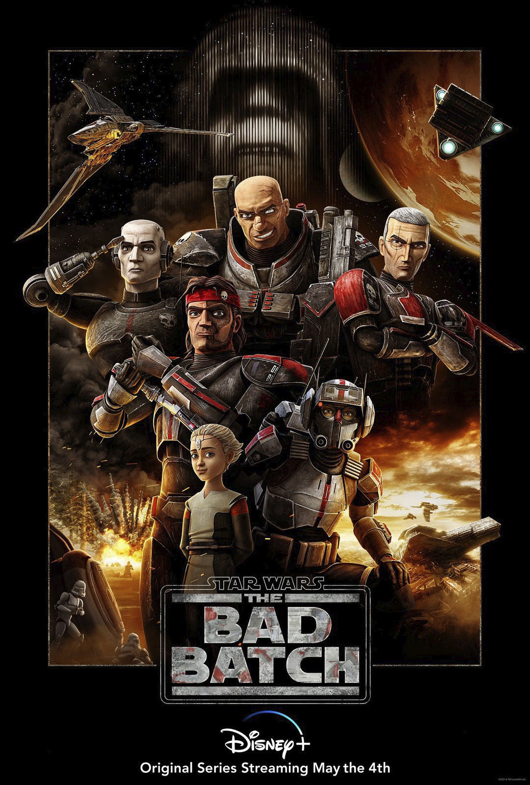 New Star Wars The Bad Batch Poster And Emoji Revealed Starwars Com