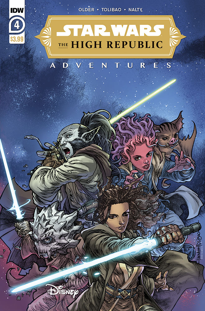 Star Wars: The High Republic Adventures #4 cover