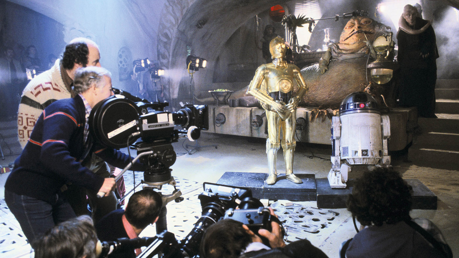 Star Wars: The Skywalker Saga – The Official Collector's Edition - Jabba's Palace BTS