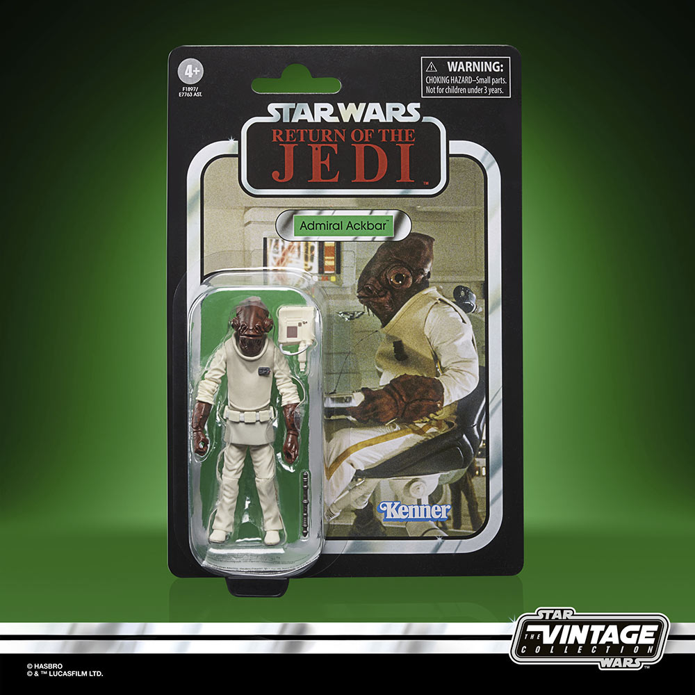 Star Wars The Vintage Collection - Admiral Ackbar in package