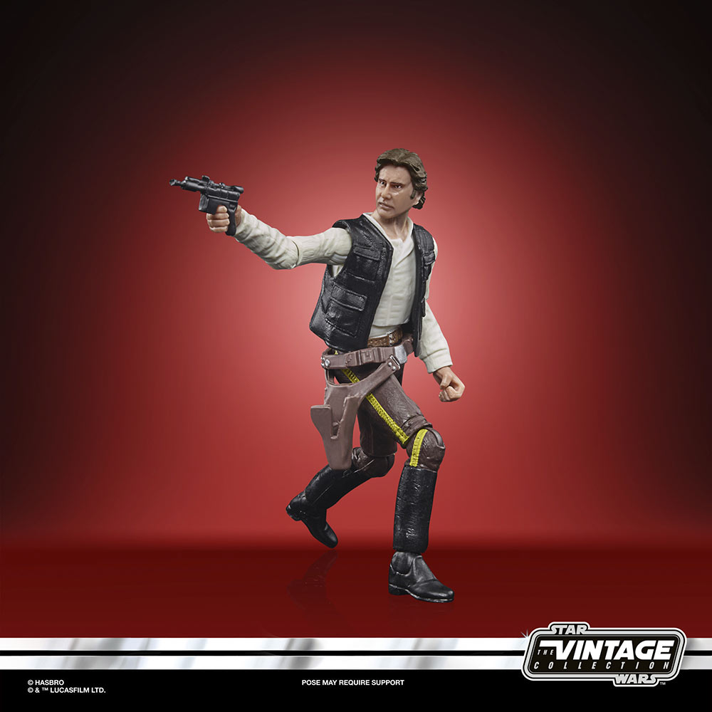 Star Wars The Vintage Collection - Han Solo in Endor gear