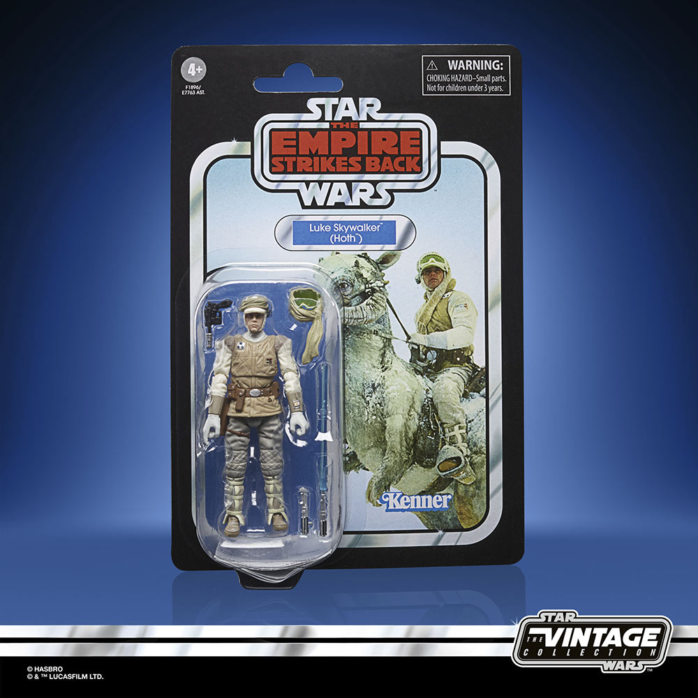 Star Wars The Vintage Collection - Luke Skywalker in Hoth fatigues in package