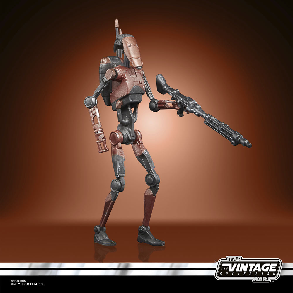 Star Wars The Vintage Collection Gaming Greats - heavy battle droid