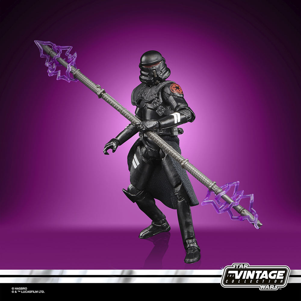 Star Wars The Vintage Collection Gaming Greats - electrostaff purge trooper