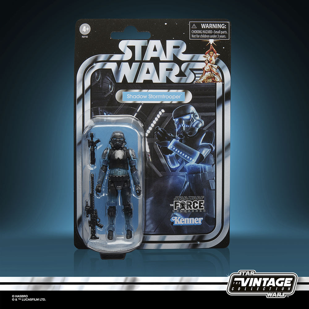 Star Wars The Vintage Collection Gaming Greats - shadow stormtrooper in package