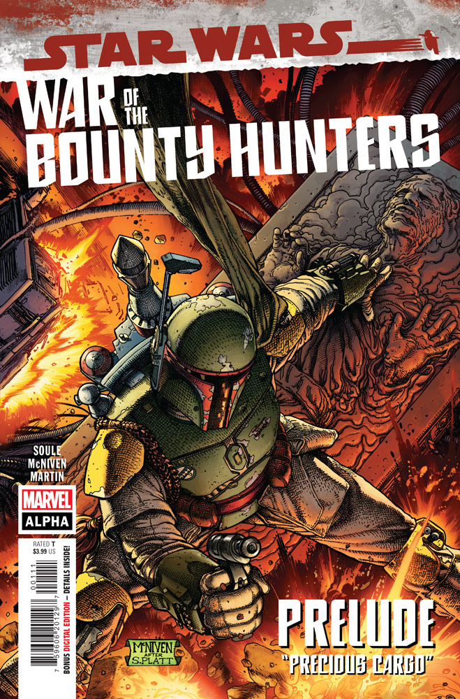 Star Wars: War of the Bounty Hunters Alpha #1 preview 1