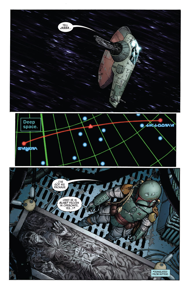 Star Wars: War of the Bounty Hunters Alpha #1 preview 2