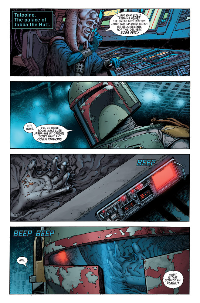 Star Wars: War of the Bounty Hunters Alpha #1 preview 3