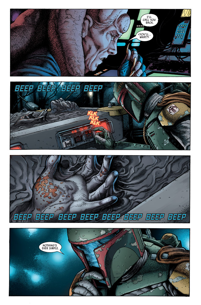 Star Wars: War of the Bounty Hunters Alpha #1 preview 4