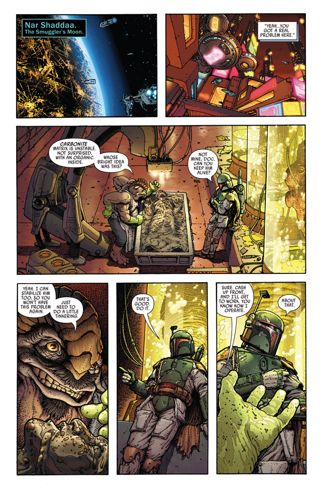 Star Wars: War of the Bounty Hunters Alpha #1 preview 5