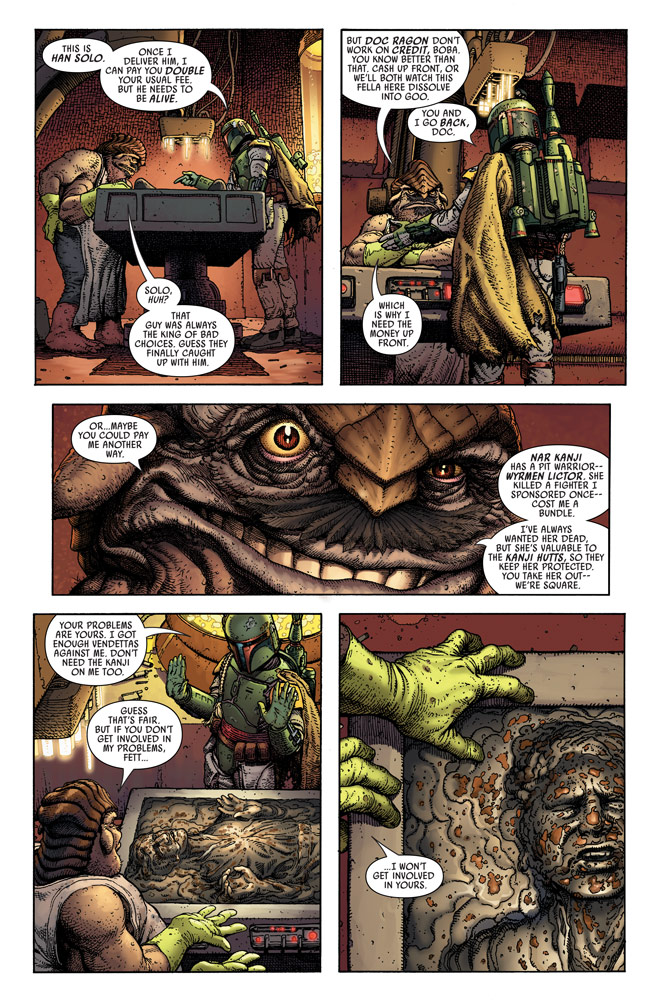 Star Wars: War of the Bounty Hunters Alpha #1 preview 6