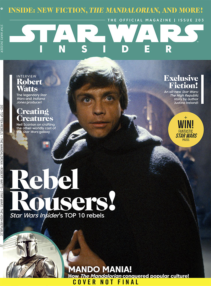 "STAR WARS INSIDER #203 – ""Hidden Danger"" Part I temporary cover"