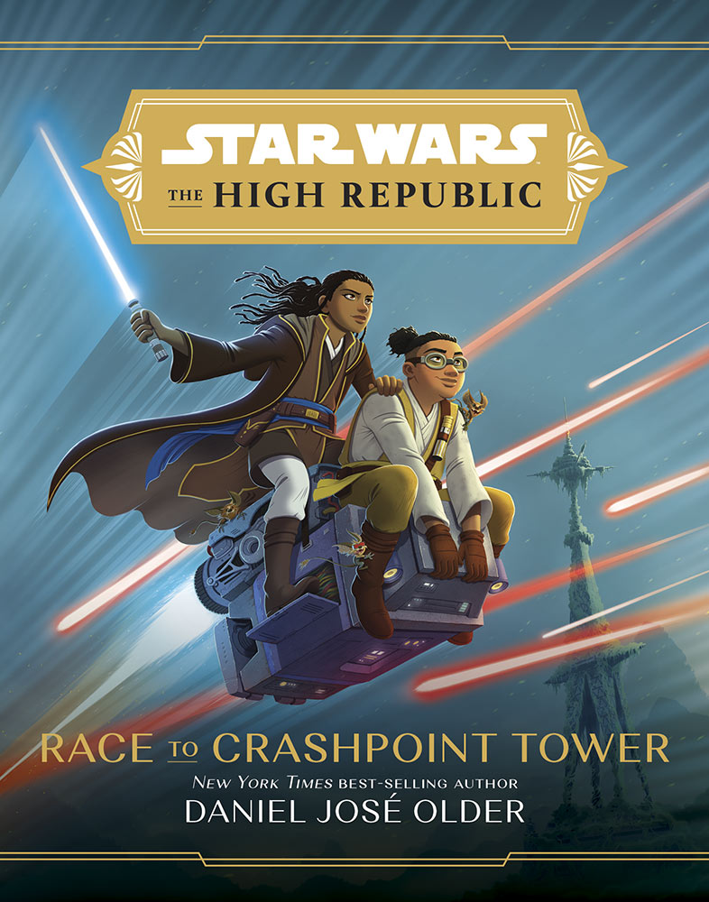 RACE TO CRASHPOINT TOWER cover