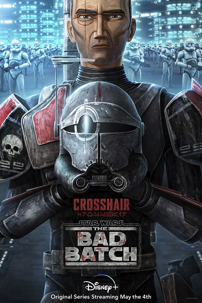 Star Wars: The Bad Batch poster - Crosshair