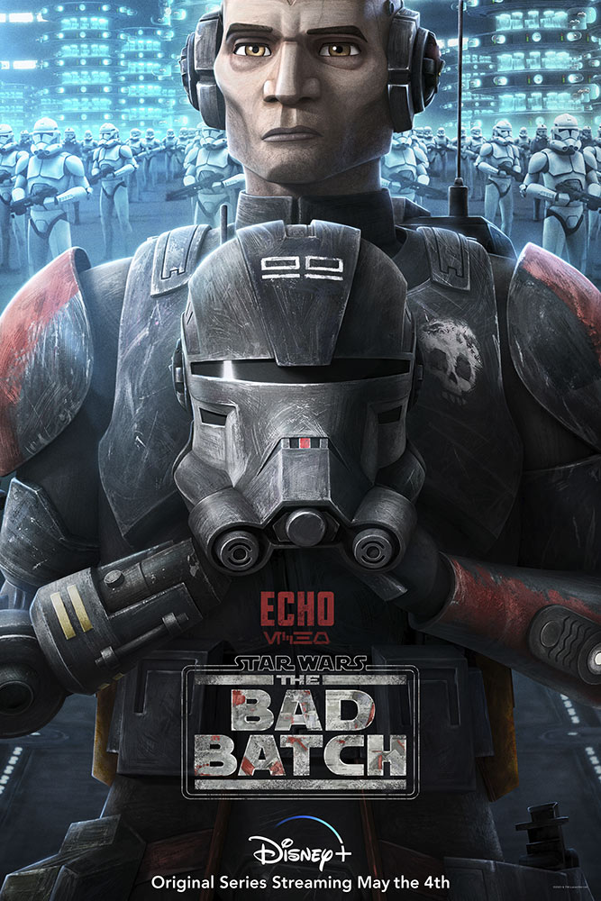 Star Wars: The Bad Batch poster - Echo