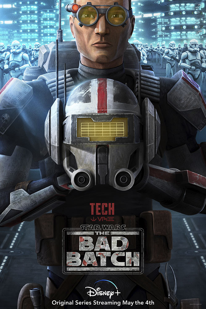 Star Wars: The Bad Batch poster - Tech