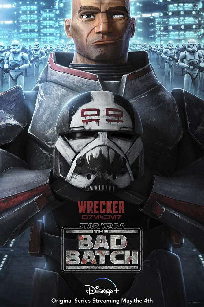 Star Wars: The Bad Batch poster - Wrecker