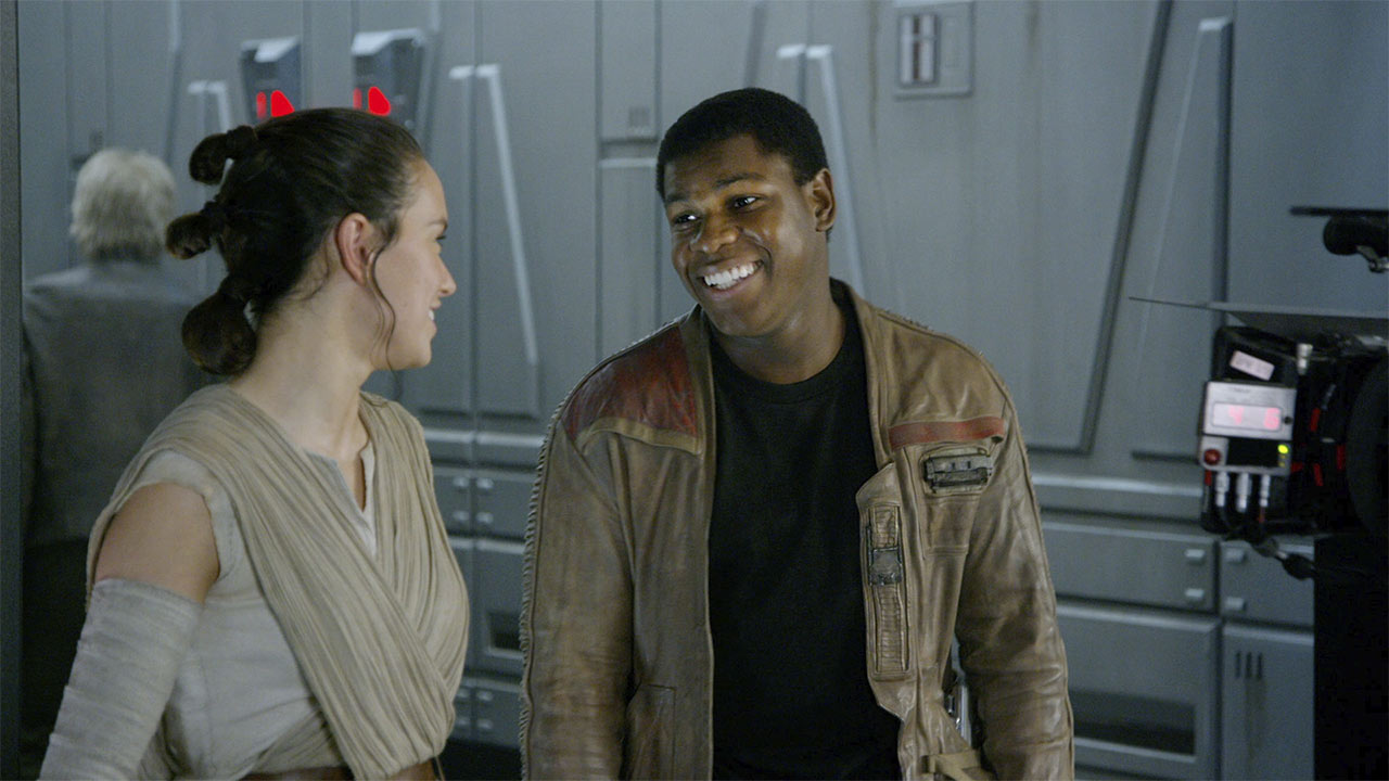 The Scavenger & the Stormtrooper (Star Wars: The Force Awakens)