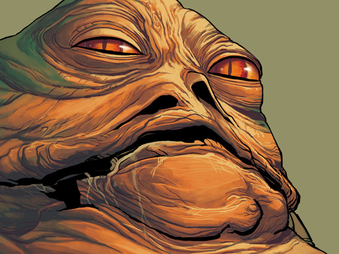 Jabba the Hutt from Star Wars: War of the Bounty Hunters — Jabba the Hutt