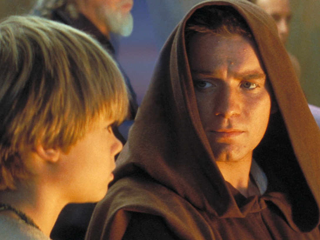 Anakin and Obi-Wan