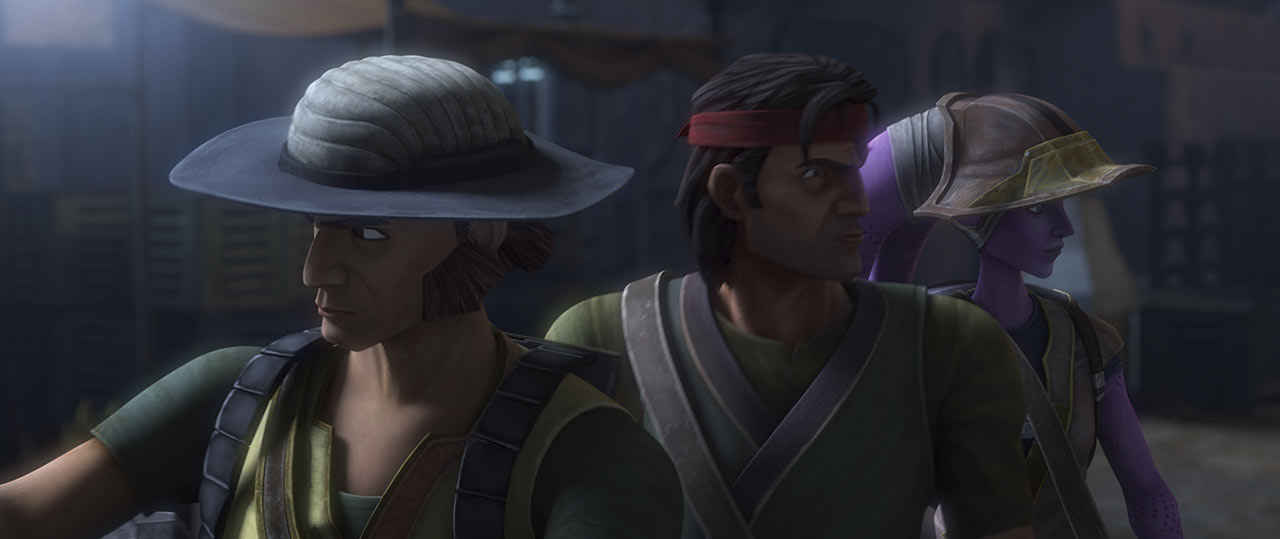 Cut Lawquane and Hunter from Star Wars: The Bad Batch