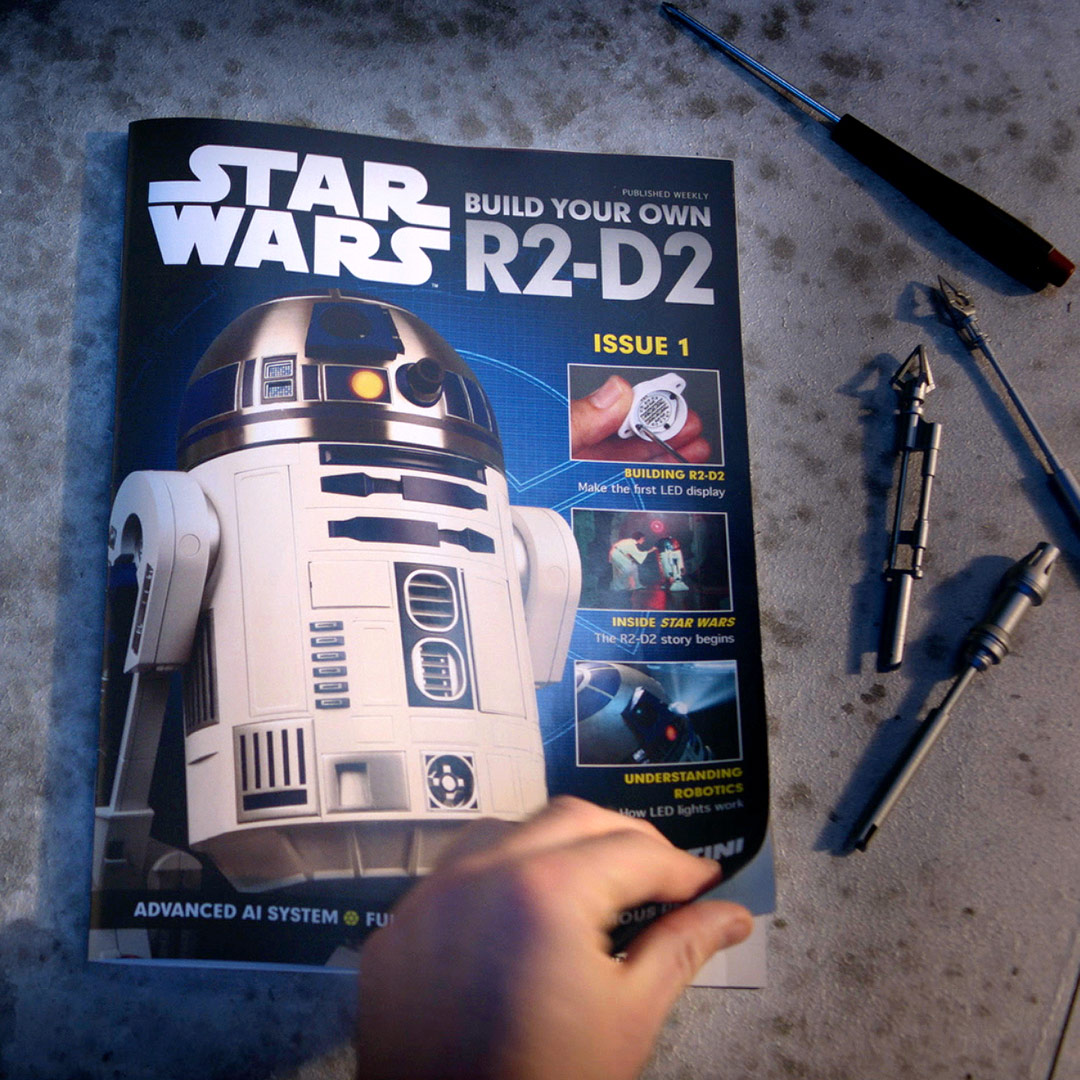 Build Your Own R2-D2 book and parts