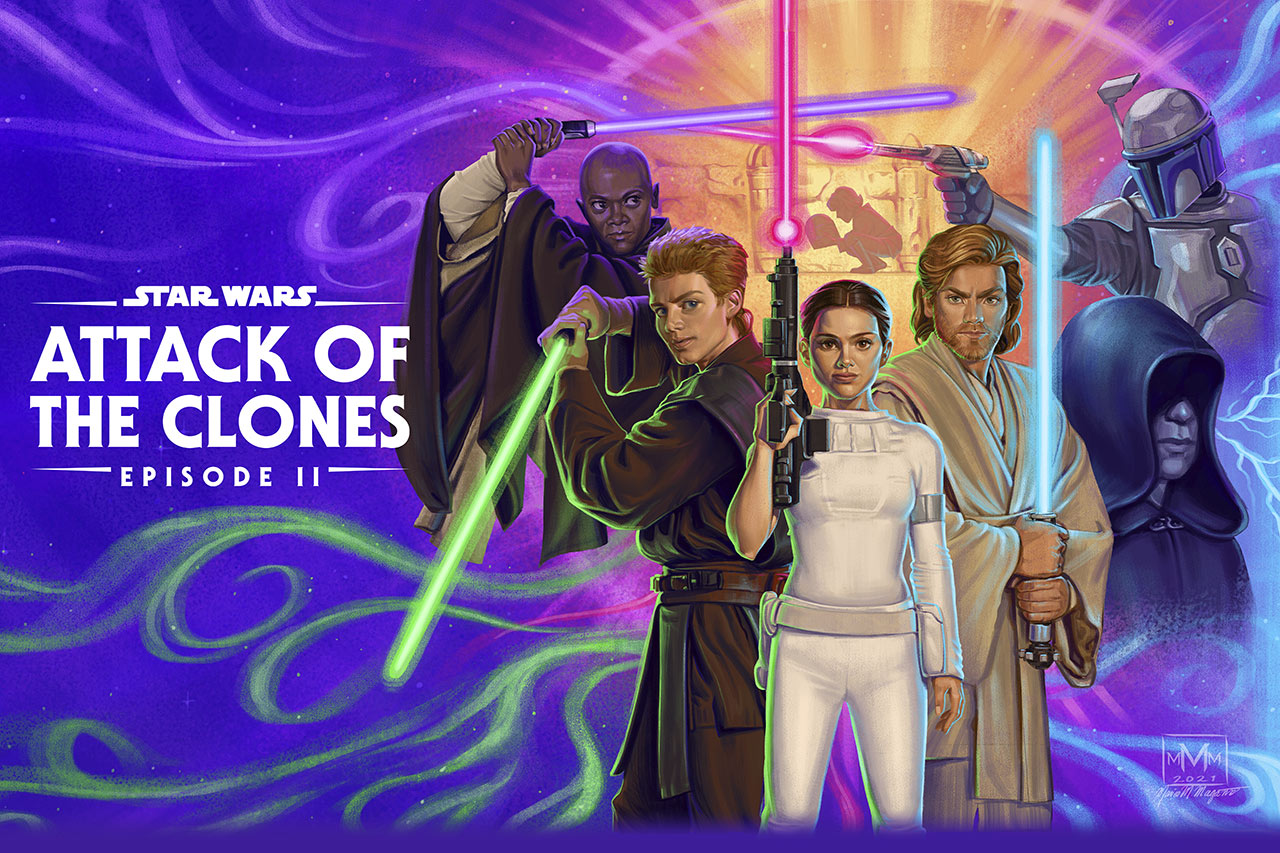 Star Wars: Attack of the Clones Fan Art Takeover