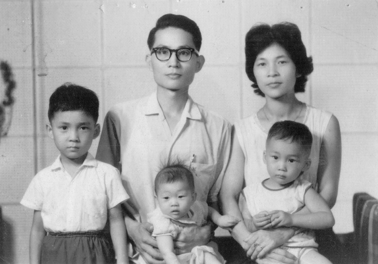 The Chiang family in 1965