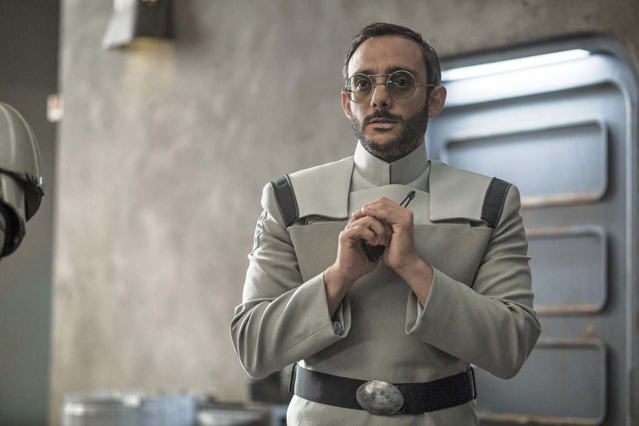 Doctor Pershing from The Mandalorian