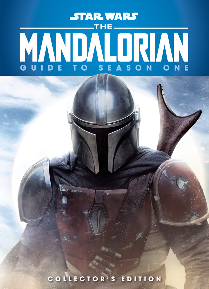 The Mandalorian: Guide to Season One cover with the Mandalorian