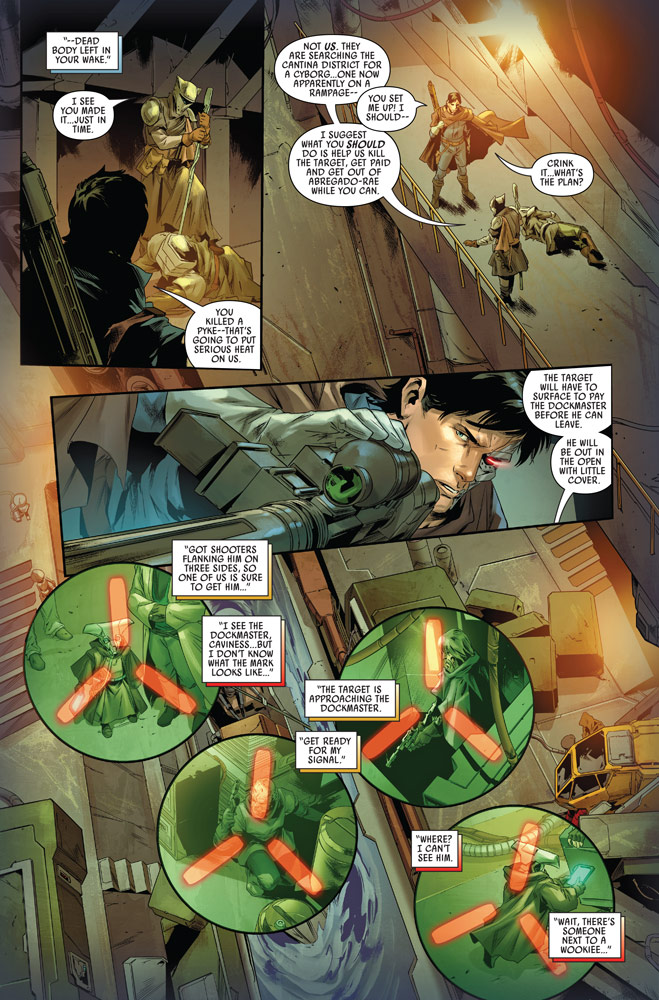 Star Wars: Bounty Hunters#12 preview 5