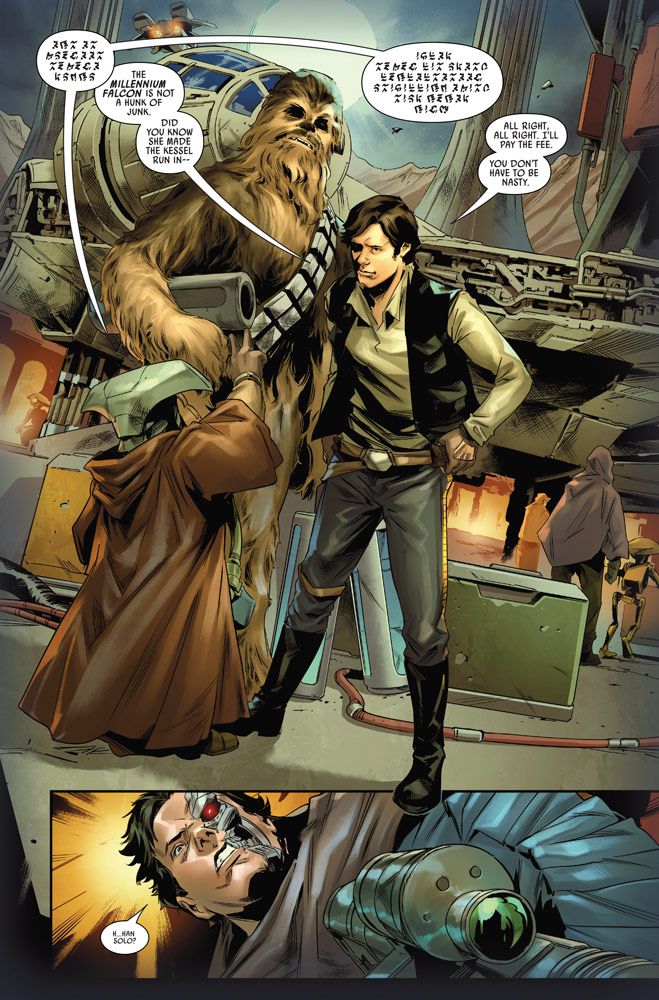 Star Wars: Bounty Hunters#12 preview 6