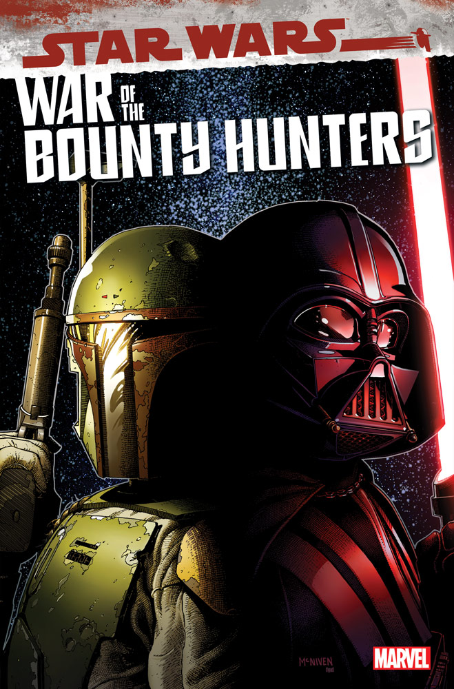 Star Wars: War of the Bounty Hunters #3 cover