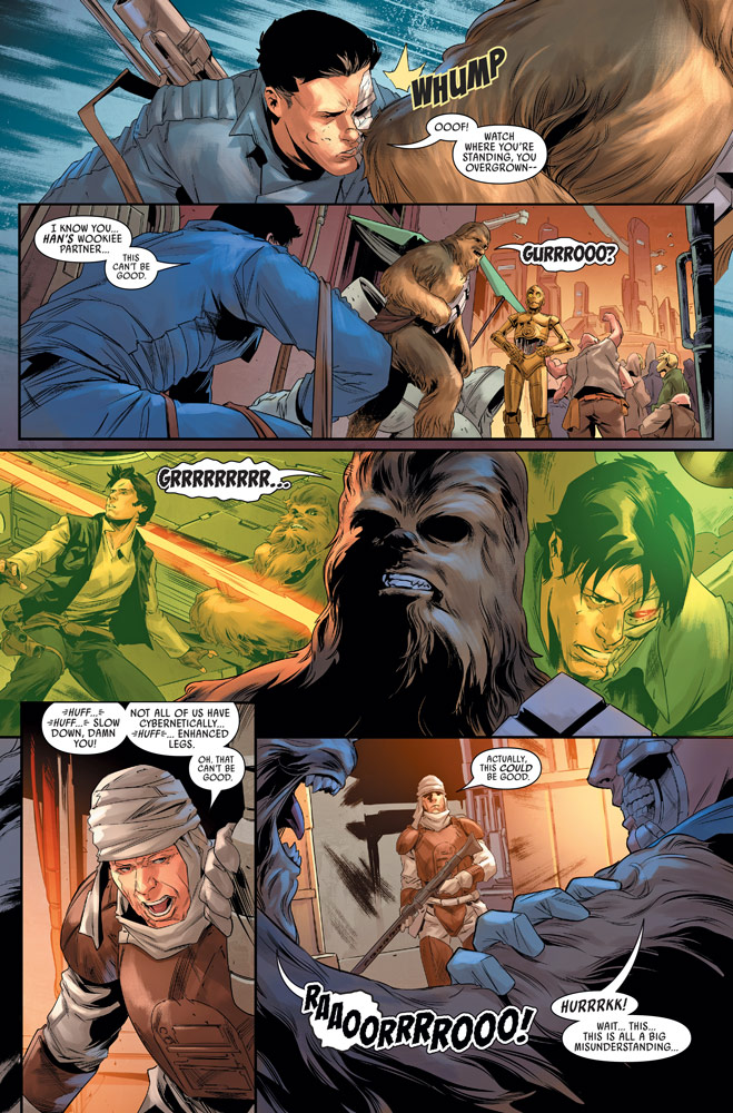 Star Wars: Bounty Hunters#13 preview 3