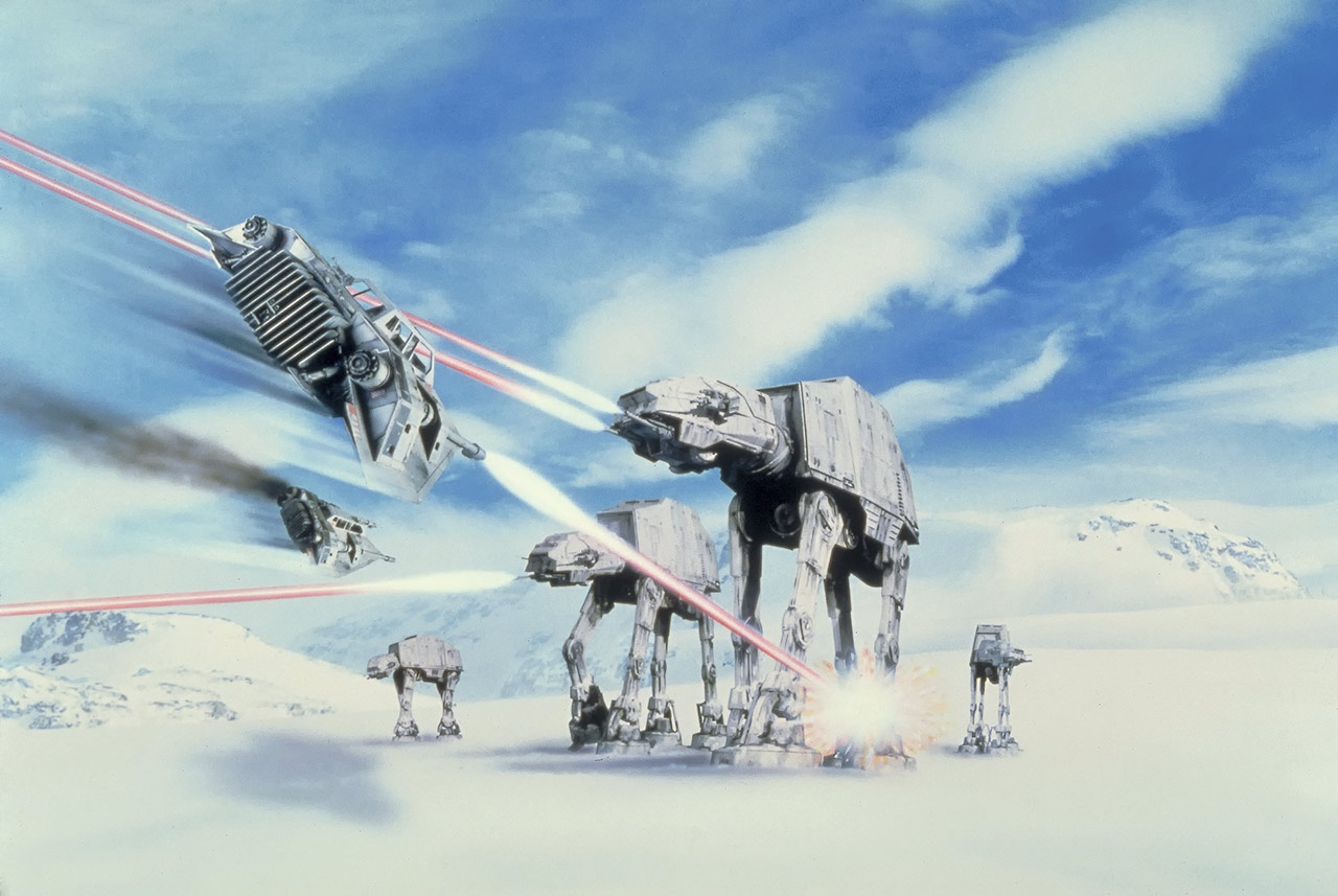 Star Wars: The Empire Strikes Back 40th Anniversary Special excerpt - AT-ATs