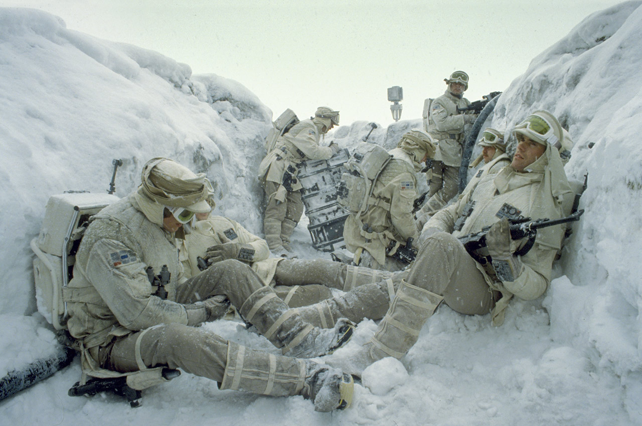 Star Wars: The Empire Strikes Back 40th Anniversary Special excerpt - Hoth trenches