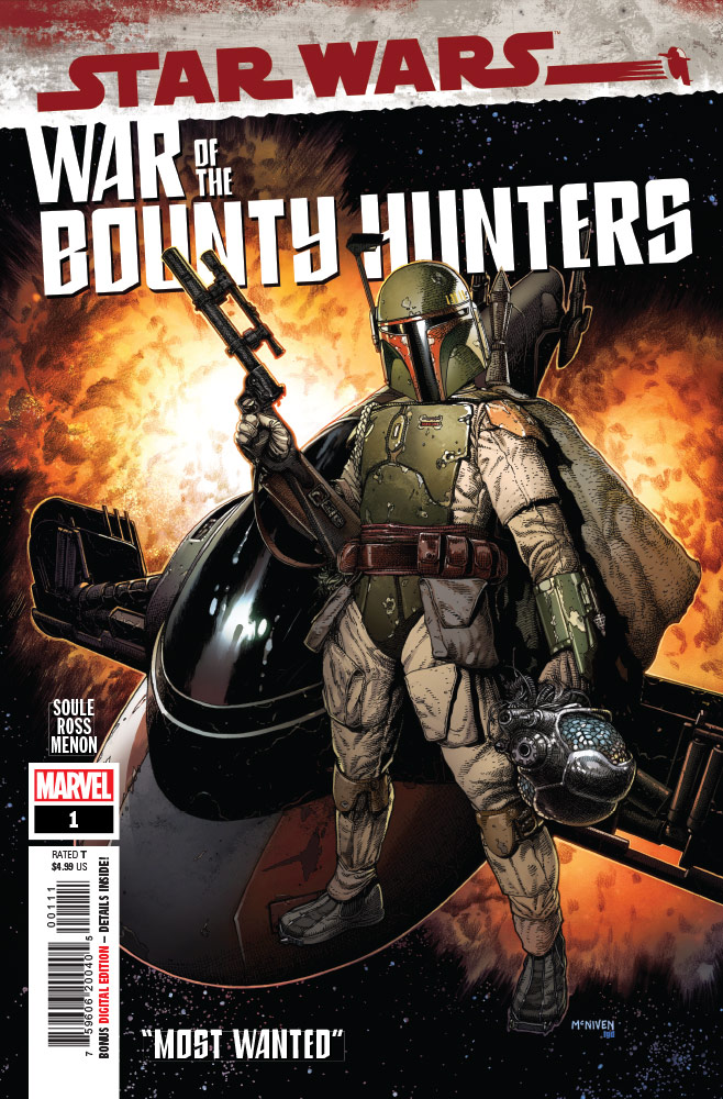 Star Wars: War of the Bounty Hunters #1 preview 1