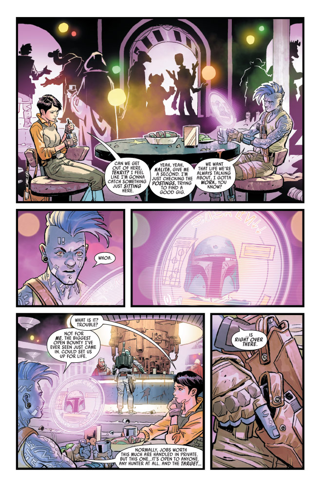 Star Wars: War of the Bounty Hunters #1 preview 2