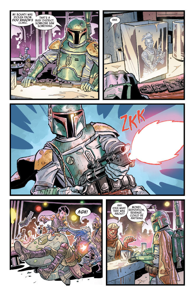 Star Wars: War of the Bounty Hunters #1 preview 3