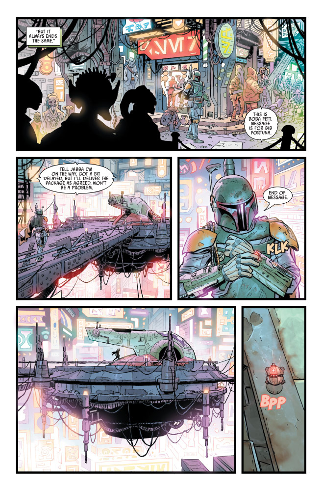 Star Wars: War of the Bounty Hunters #1 preview 4