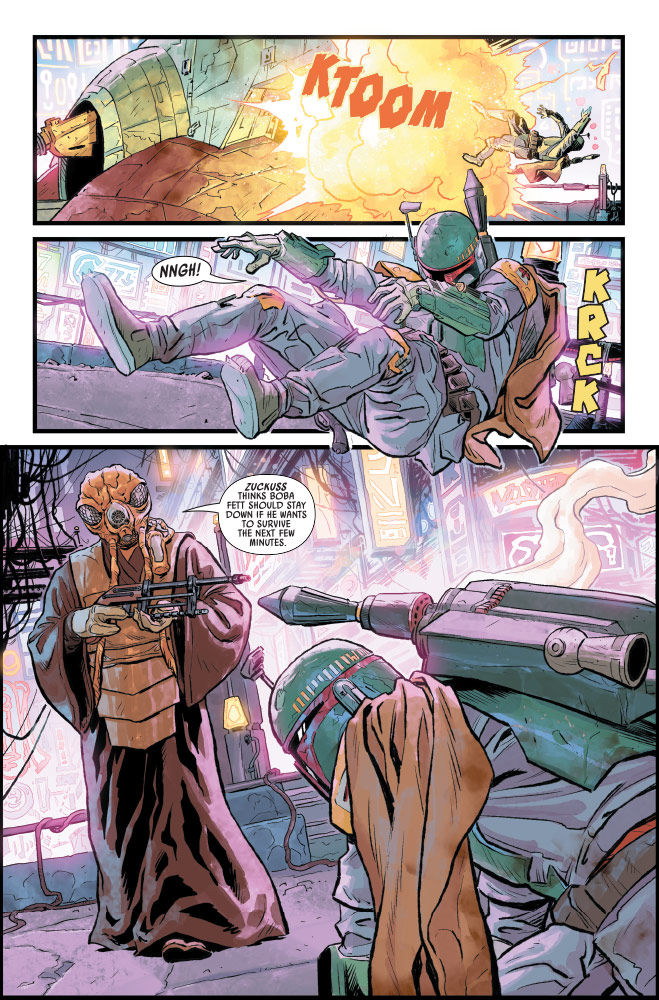 Star Wars: War of the Bounty Hunters #1 preview 5
