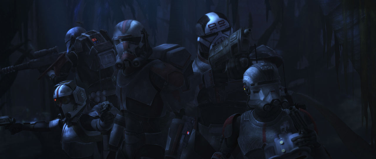 """Clone Force 99 in Star Wars: The Bad Batch - """"Aftermath"""""""