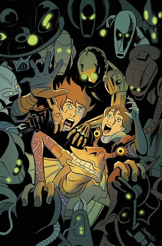 Star Wars Adventures: Ghosts of Vader's Castle 01 cover