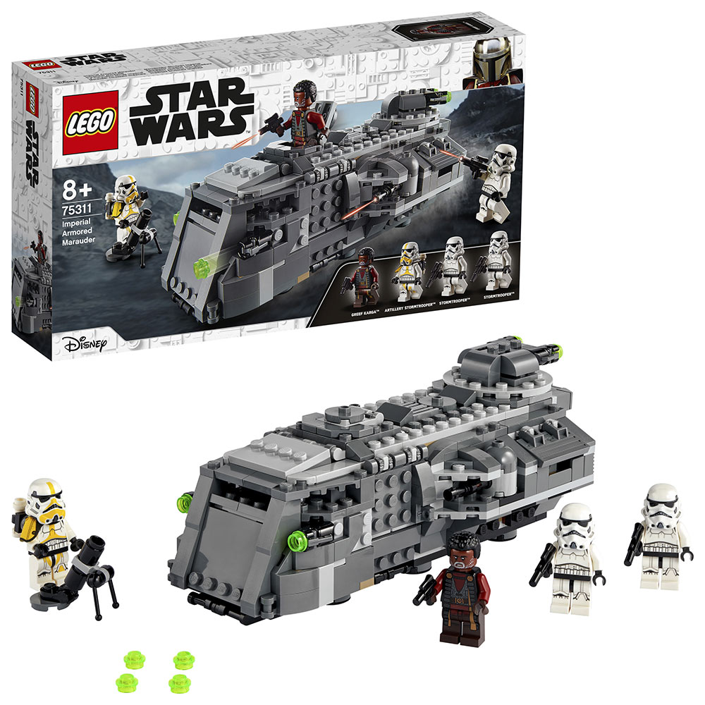 LEGO Star Wars Imperial Armored Marauder with box