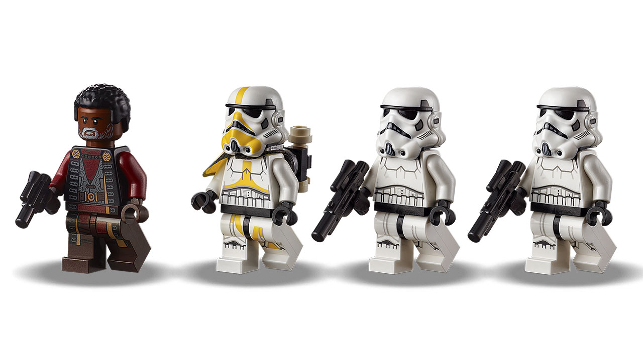 LEGO Star Wars Imperial Armored Marauder minifigures